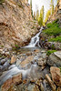Waterfall in Creek from Twin Lakes to Alice Lake Idaho