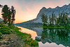 El Capitan at Alice Lake sunrise