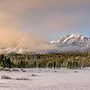 Sawtooth Mountains Winter Morning Sunrise