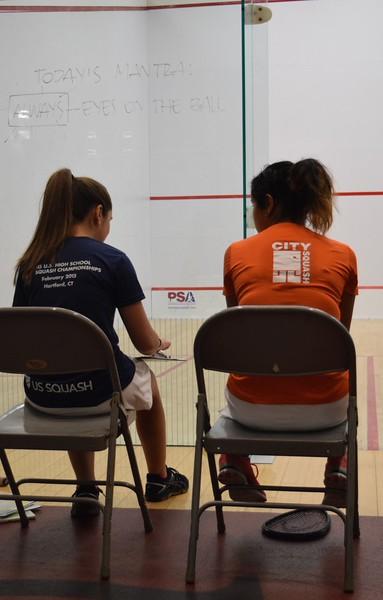St. Luke's Women's Squash Team Tournament - September 2015
