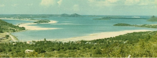 View of Simpson Bay, 1975<br /> Photo credit - Photographer unknown