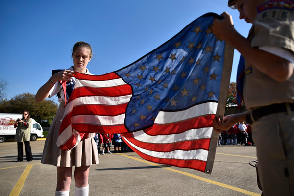 St. Maria Goretti Catholic School honors veterans