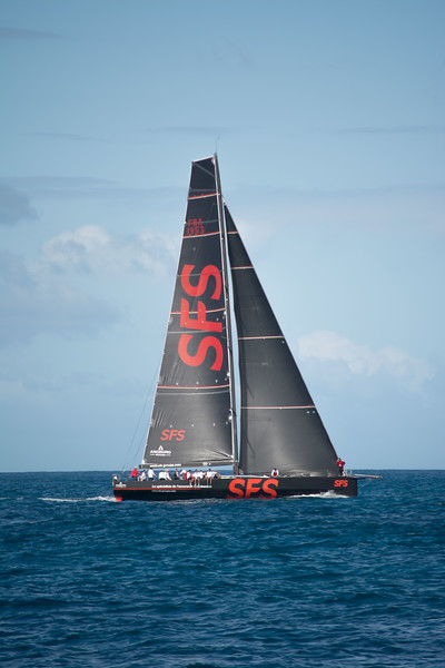 VOR 70, SFS II, one of the fastest monohulls in the world.
