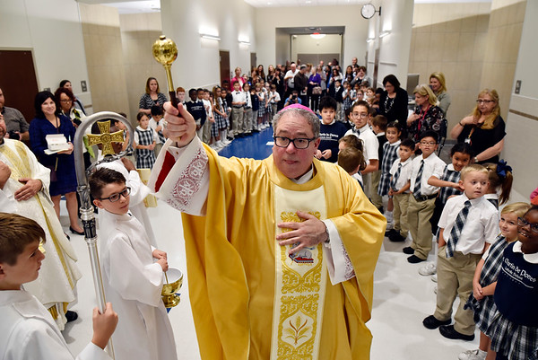St. Martin de Porres School Dedication