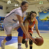 Lady Horsemen Christmas Tournament championship girl's basketball game played between St. Michael's and Espanola Friday, December 30, 2016 at Perez-Shelley Gymnasium, St. Michael's. Clyde Mueller/The New Mexican