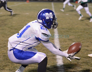 St. Michael's at Moriarty class 4A state quarterfinal football game played at Moriarty High School Saturday November 18, 2016. Clyde Mueller/The New Mexican