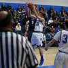 The second quarter of the St. Michael's High School vs Silver High School boys basketball game at St. Mike's on Friday, January 11, 2019. Luis Sánchez Saturno/The New Mexican
