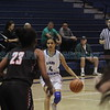 The first quarter of the St. Michael's High School vs Taos High School girls basketball game at St. Mike's on Monday, February 19, 2018. Luis Sánchez Saturno/The New Mexican