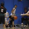 The second quarter of the St. Michael's High School vs Taos High School girls basketball game at St. Mike's on Monday, February 19, 2018. Luis Sánchez Saturno/The New Mexican
