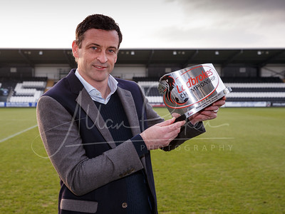 JACK ROSS LADBROKES CHAMPIONSHIP MANAGER OF THE MONTH AWARD FOR DECEMBER