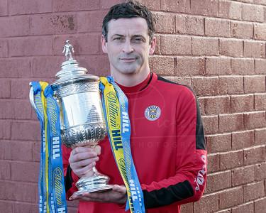 Scottish Cup Photo Call St Mirren training ground