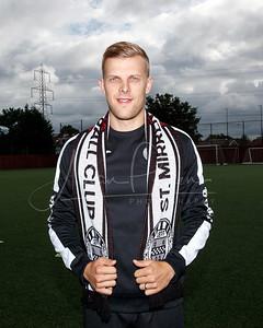Harry Davis signing St Mirren Training Complex Bathgo Avenue, Paisley, PA1 3EA