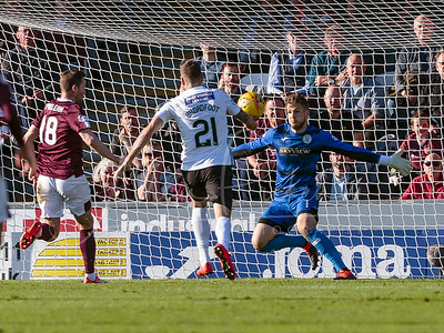 ST MIRREN V HEARTS