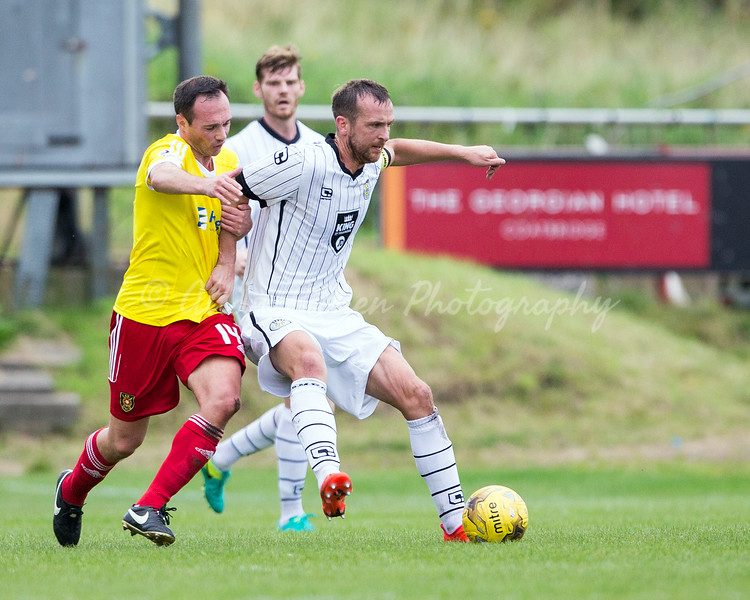 03/09/16 IRN-BRU 3RD RND <br /> ALBION ROVERS v ST MIRREN (3-3, 3-4 AET) <br /> EXSEL GROUP STADIUM - COATBRIDGE