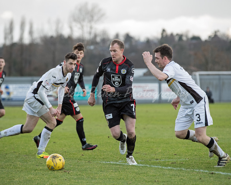 4/02/17 LADBROKES CHAMPIONSHIP <br /> DUMBARTON v ST MIRREN (2-2)<br /> CHEAPER INSURANCE DIRECT STADIUM - DUMBARTON