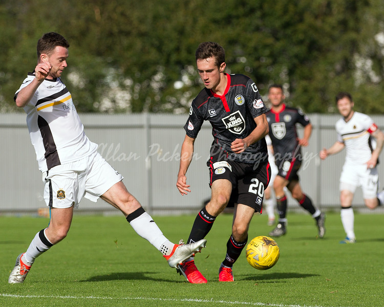 17/09/16 LADBROKES CHAMPIONSHIP <br /> DUMBARTON v ST MIRREN (1-1) <br /> CHEAPER INSURANCE DIRECT STADIUM - DUMBARTON