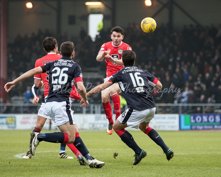 21/01/17 WILLIAM HILL SCOTTISH CUP 4TH RND <br /> DUNDEE v ST MIRREN (0-2) <br /> DENS PARK - DUNDEE
