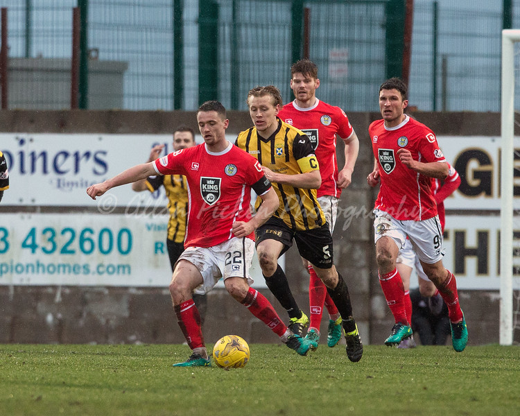 11/02/17 WILLIAM HILL SCOTTISH CUP FIFTH ROUND <br /> EAST FIFE v ST MIRREN (2-3) <br /> BAYVIEW - METHIL
