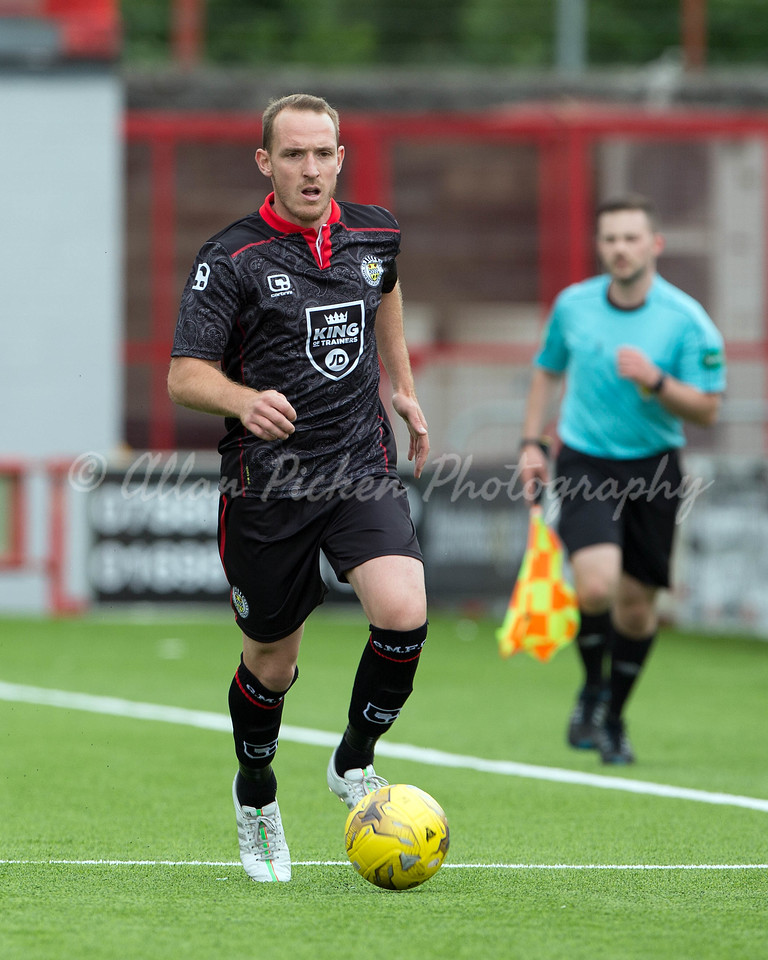 23/07/16 BETFRED CUP GROUP G <br /> HAMILTON v ST MIRREN (3-0) <br /> THE SUPERSEAL STADIUM - HAMILTON