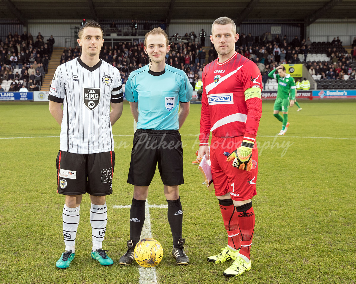 19/02/17 IRN BRU CHALLENGE CUP <br /> ST MIRREN V THE NEW SAINTS (4-1) <br /> PAISLEY 20/21 STADIUM - Paisley