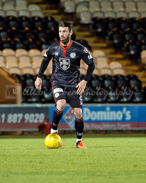 29/11/16 WILLIAM HILL SCOTTISH CUP THIRD ROUND <br /> ST MIRREN V SPARTANS FC <br /> PAISLEY 2021 STADIUM