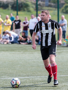 St Mirren legend v fans football match.