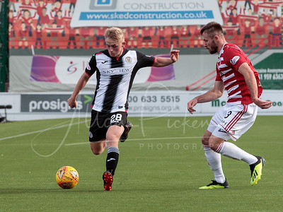 22/09/18 LADBROKES PREMIERSHIP HAMILTON V ST. MIRREN (3-0) THE HOPE CBD STADIUM - HAMILTON