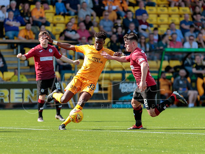 20/04/19 LADBROKES PREMIERSHIP  LIVINGSTON v ST MIRREN  THE TONY MACARONI ARENA - LIVINGSTON