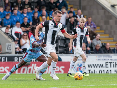04/08/18 LADBROKES PREMIERSHIP ST MIRREN V DUNDEE (2 - 1) THE SIMPLE DIGITAL ARENA - PAISLEY