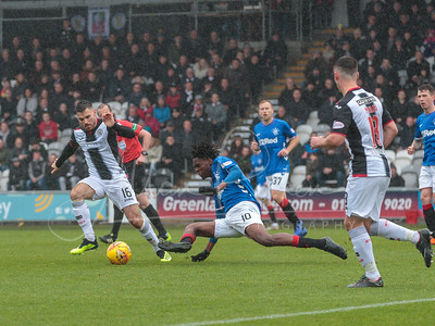 03/11/18 LADBROKES PREMIERSHIP ST MIRREN v RANGERS SIMPLE DIGITAL ARENA - PAISLEY