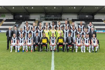 2018/19 St Mirren team shoot