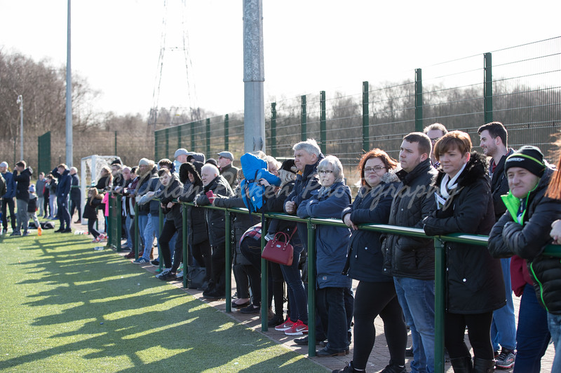 St Mirren fans  v Morton fans