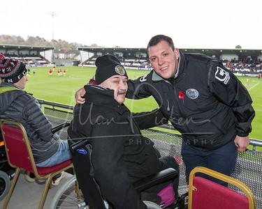 St Mirren's new disabled platform