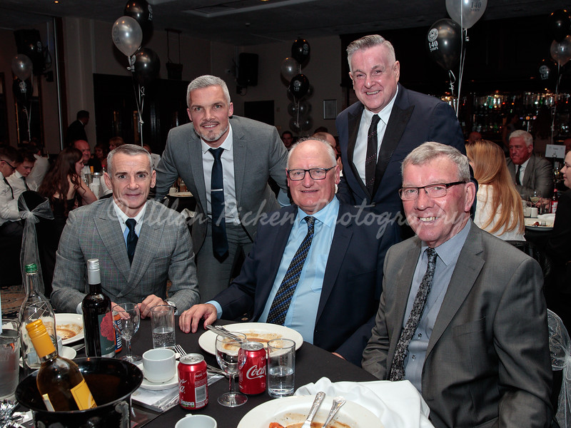 140 year anniversary dinner<br /> hall of fame inductees<br /> normandy hotel<br /> renfrew