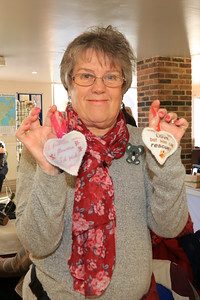 08 FEB 2020 – Pictured: Catharina Griffiths - St Nicholas Church Clock Fund Craft Fair at The 1912 Centre, Harwich – Photo Copyright © Maria Fowler 2020
