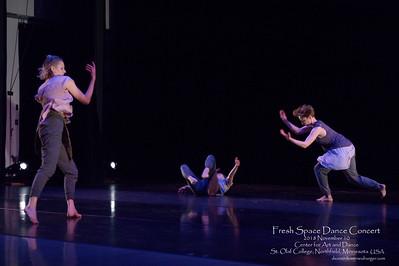 Fresh Space Dance Concert, 2018 November 10, Center for Art and Dance, St. Olaf College, Northfield, Minnesota  USA.