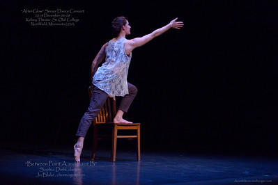 """After Glow"" Senior Dance Concert, 2018 December 06-08, Kelsey Theater, St. Olaf College, Northfield, Minnesota  USA"