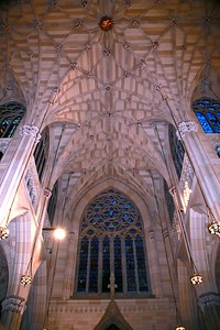 The Ceiling in the Transepts of the Cathedral
