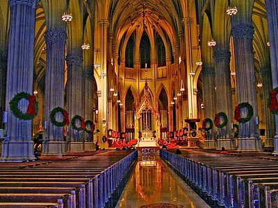 The Main Aisle in St. patrick's Cathedral