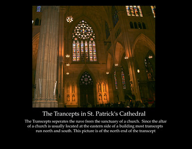The Trancepts of St. Patrick's Cathedral in New York City