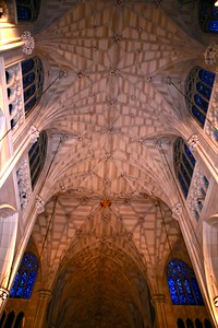 The Beautiful Ceiling of St. Patrick's Cathedral