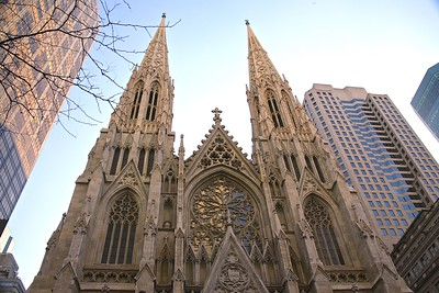 The Towers of St. Patrick's Cathedral