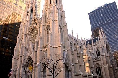 St. Patrick's Cathedral on Fifth Avenue in New York City
