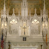 The altar was one of the many things restored in the renovation of the church. SUN/JOHN LOVE