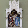 The Stations of the Cross at St. Patrick's Church in Lowell where restored in the renovation of the church. SUN/JOHN LOVE