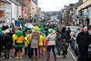 EEXXjob 17/03/2018  SOCIAL St. Patricks parade, Fermoy , County Cork This years annual St. Patrick's day parade in Fermoy County Cork, good crowds braving the chill winds..  Picture: Andy Jay