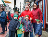 EEXXjob 17/03/2018  SOCIAL St. Patricks parade, Fermoy , County Cork.  Pictured at  this years annual St. Patrick's day parade in Fermoy County Cork . The Kiernan family from Fermoy enjoying the fun. Picture Andy Jay