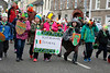 EEXXjob 17/03/2018  SOCIAL St. Patricks parade, Fermoy , County Cork.  Pictured at  this years annual St. Patrick's day parade in Fermoy County Cork, Rathcomac Beavers.  Picture Andy Jay
