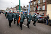 EEXXjob 17/03/2018  SOCIAL St. Patricks parade, Fermoy , County Cork.  At this years annual St. Patrick's day parade in Fermoy County Cork, the UN Veterans group . Picture Andy Jay