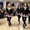Dancers from the Heavey Quinn Academy of Irish Dance preform during part of the kick-off of Irish Cultural Week at St Patricks Church. SUN/ David H. Brow